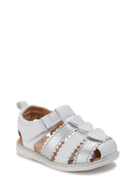 Wonder Nation Ruffled Fisherman Sandal (Infant Girls)