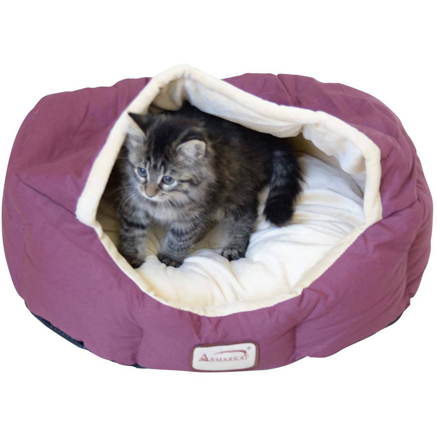 Armarkat Cat Bed 18-Inch Long C08HJH/MH, Beige