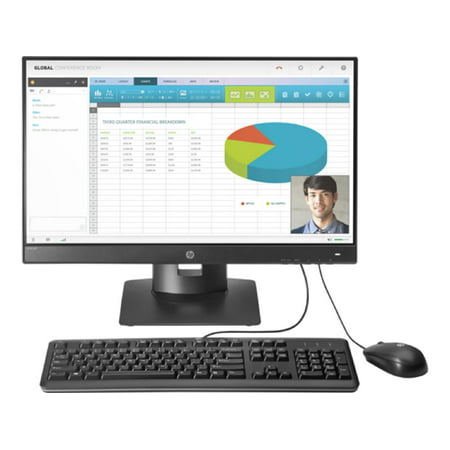 HP t310 All-in-One Zero Client 512 MB Flash 32 MB 23.6