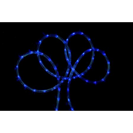 18 blue indooroutdoor christmas rope lights
