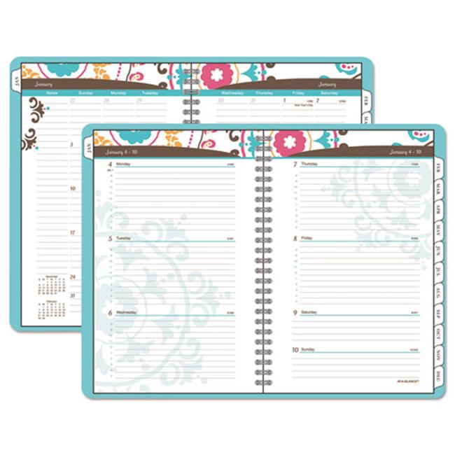 At-A-Glance 917P905 Suzani Weekly & Monthly Appointment Book, 8. 5 x 11