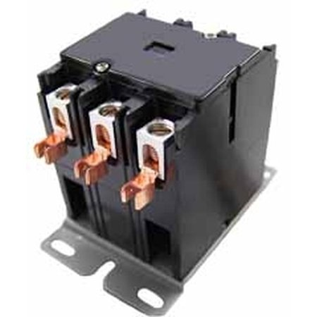 Packard C340A Contactor 3 Pole 40 Amps 24 Coil Voltage