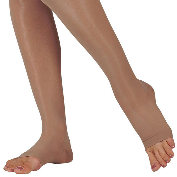 Juzo 2100 Naturally Sheer Open Toe Knee Highs - 15-20 mmHg  Reg JUZO2100AD-P