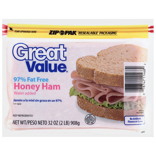 Great Value: Honey Ham, 32 Oz