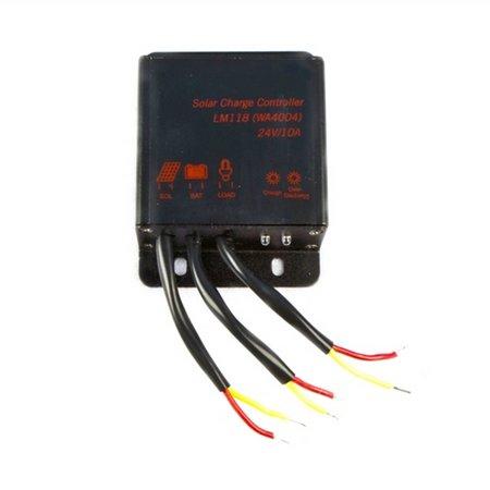 Aleko LM118 24V Solar Charge Controller for Solar Panels