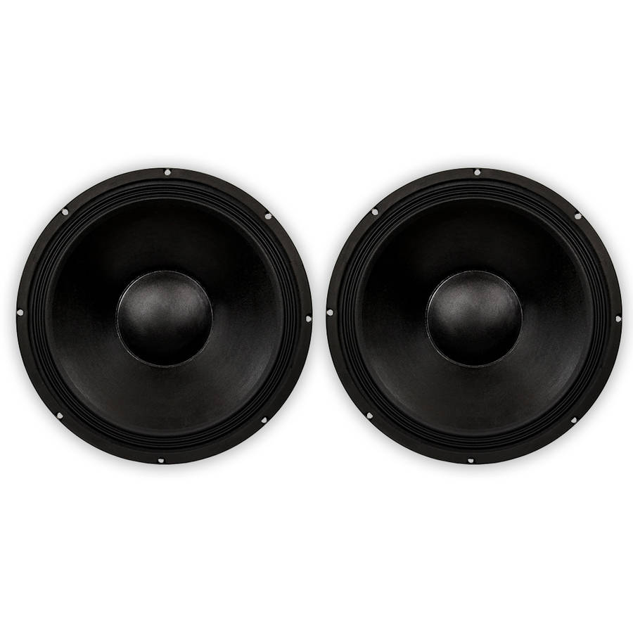 "Podium Pro PP181 Pro Audio 18"" DJ, PA, Karaoke, Band Replacement Subwoofer Pair by Goldwood Sound, Inc."