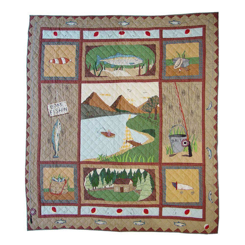 Patch Magic Gone Fishing Quilt Collection