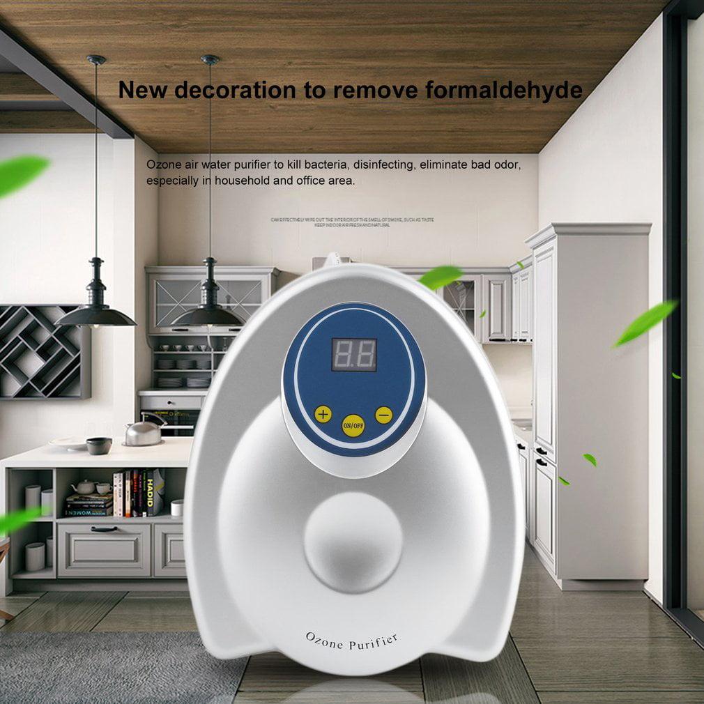 Portable ABS Ozone Generator 20W Water Air Purifier AC 110V 400 Mg/H Ozone Sterilizer Home Deodorizer US Plug