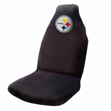 NFL Pittsburgh Steelers Applique Seat Cover by
