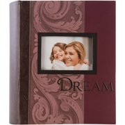 2Up Dream Red Framed Front Photo Album