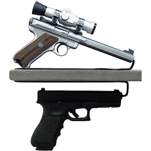 Gun Storage Solutions Over-Under Handgun Hangers