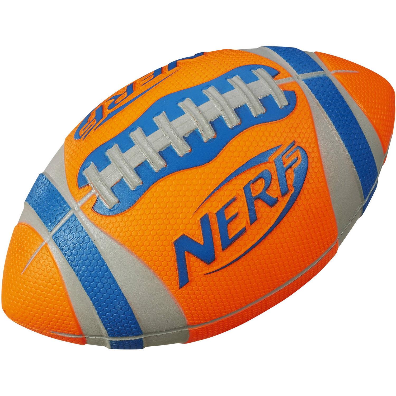 Nerf Sports Pro Grip Football (Orange) by Hasbro