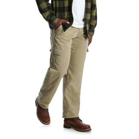 Wrangler Bag - Big Men's Fleece Lined Cargo Pant