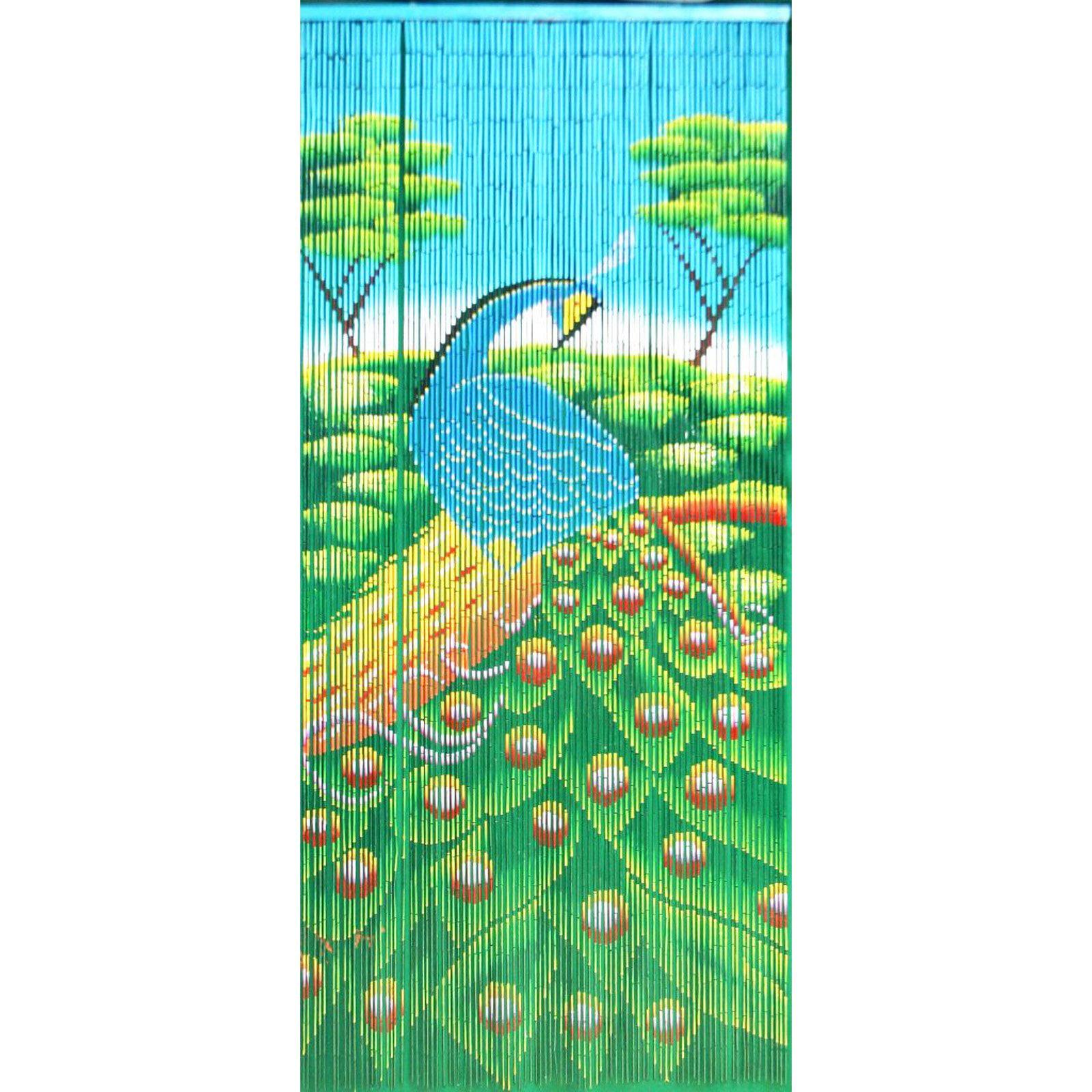 Bamboo54 Peacock Outdoor Curtain