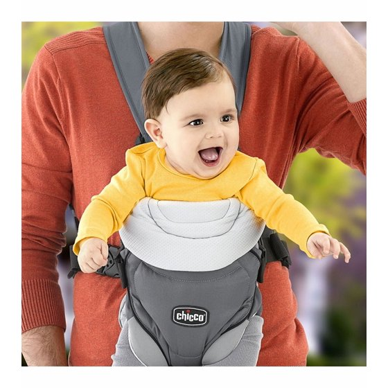 Chicco Coda 2 Way Carrier With Infant Insert And Adjule Straps Graphite