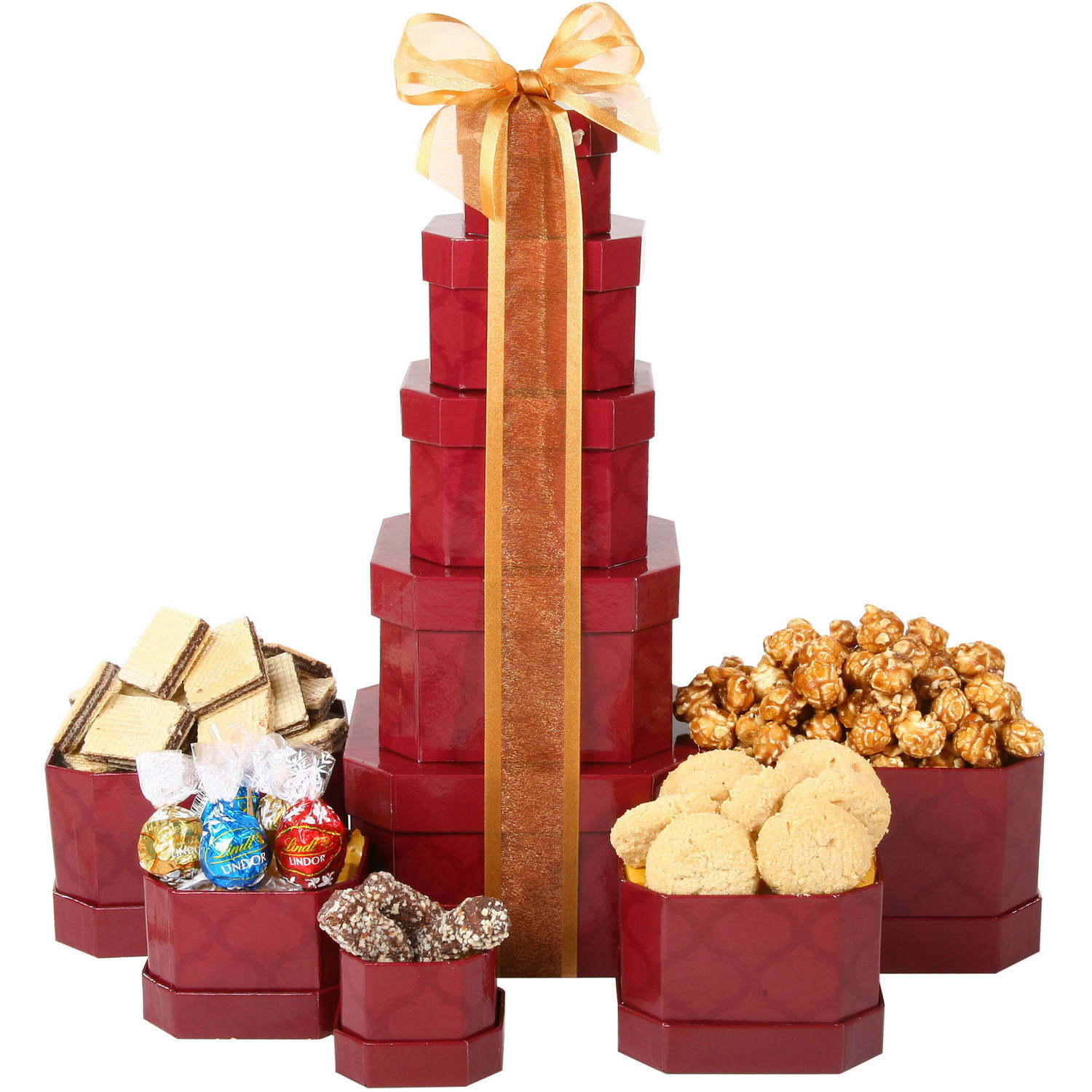 alder creek gift baskets executive gift tower 5 pc
