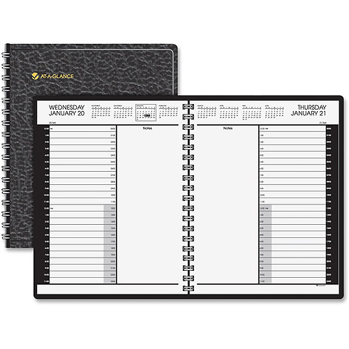 At-A-Glance Professional 24 Hour Daily Appointment Book