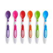Munchkin Soft Tip Infant Spoons, 6 Pack