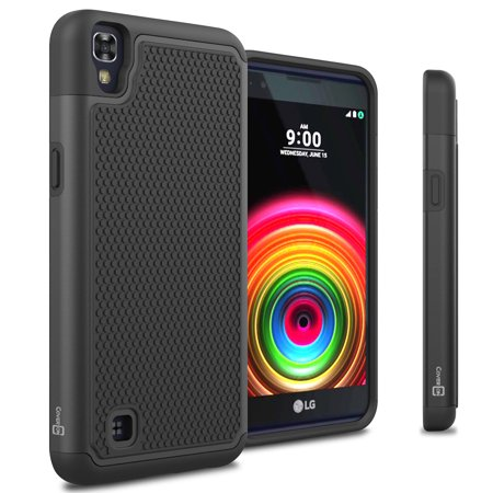 CoverON LG X Power Case, HexaGuard Series Hard Phone