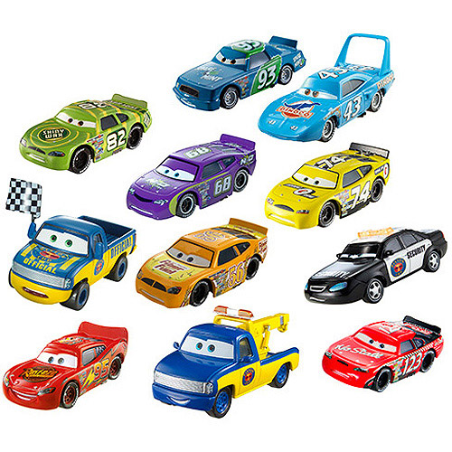 Disney Cars Die-Cast Collection, 11-Pack