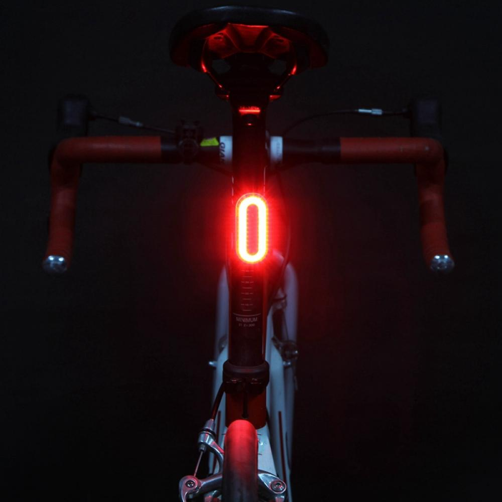 Details about  /LED Bicycle Cycling Tail Light USB Rechargeable Bike Rear Red Warning Light Lamp