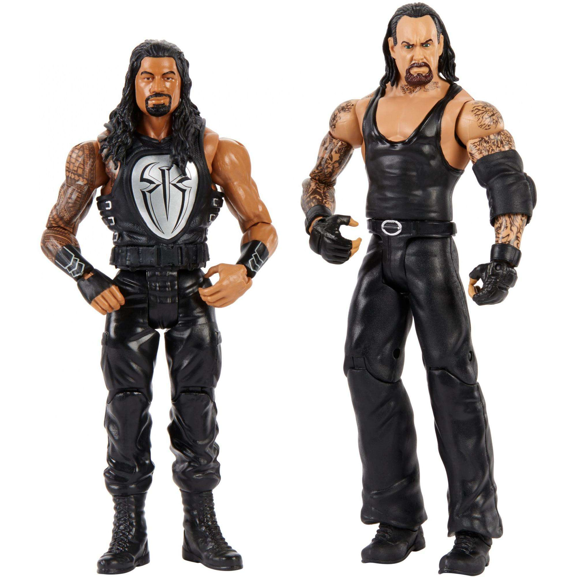 WWE Undertaker vs Roman Reigns 2-Pack by Mattel