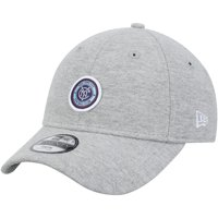 New York City FC New Era Girls Youth Preppy Team 9TWENTY Adjustable Hat - Gray - OSFA