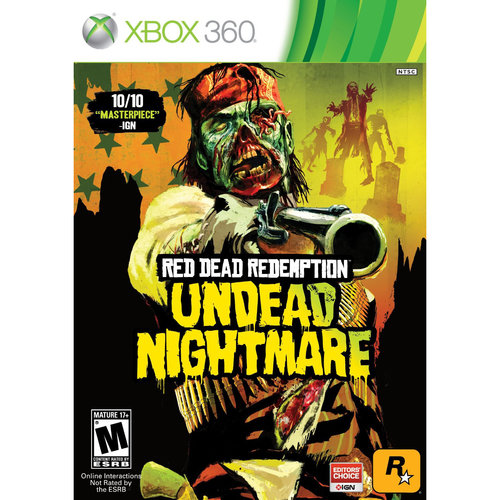 Red Dead Redemption: Undead Nightmare, Rockstar Games, Xbox 360, 710425399329