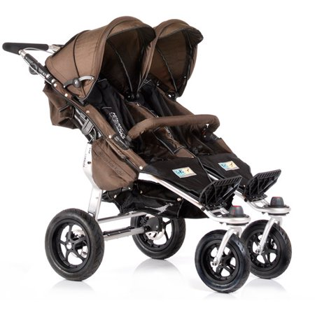 Trends for Kids Twinner Twist Duo Jogging Stroller, Chocolate
