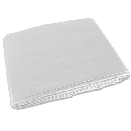 White 7x12 Heavy Duty UV Protected Treated Canopy Sun Shade Boat Cover - Uv Paint Ideas