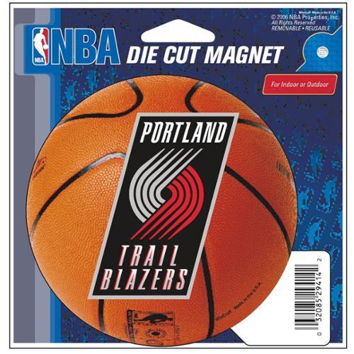 Die Cut Magnet Portland Tblazers