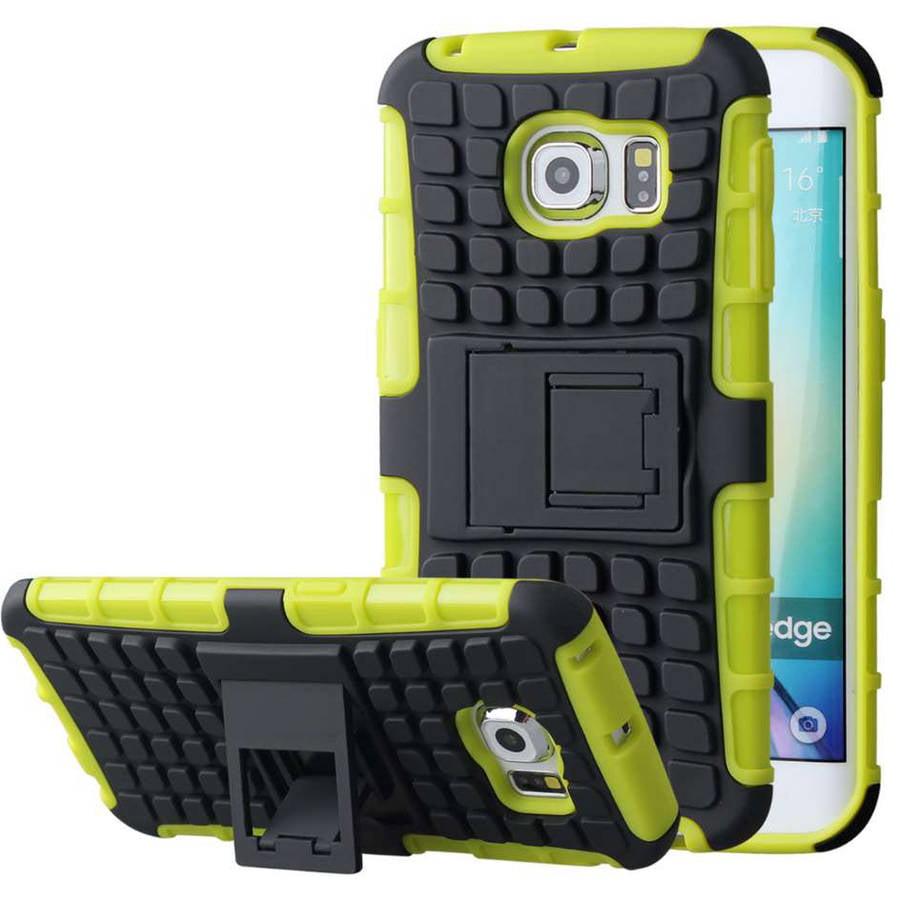 Samsung Galaxy S6 Edge Case - Impact SR Kickstand Cover