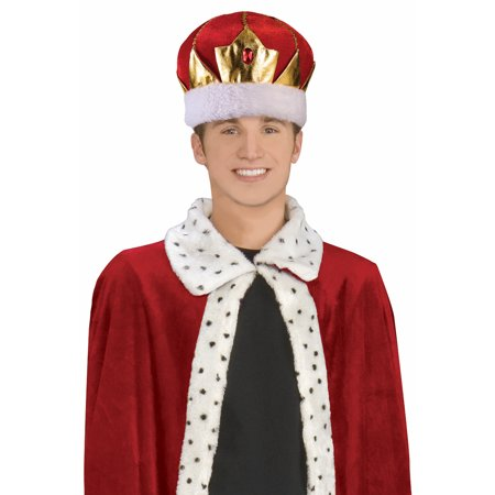 King's Crown Adult Costume Hat