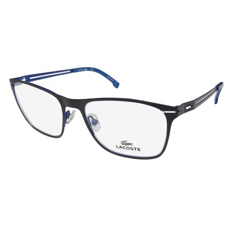 a1f701debb New Lacoste 2220 Womens Ladies Designer Full-Rim Black Frame Demo Lenses  52-18-140 Eyeglasses Eyeglass Frame - Walmart.com