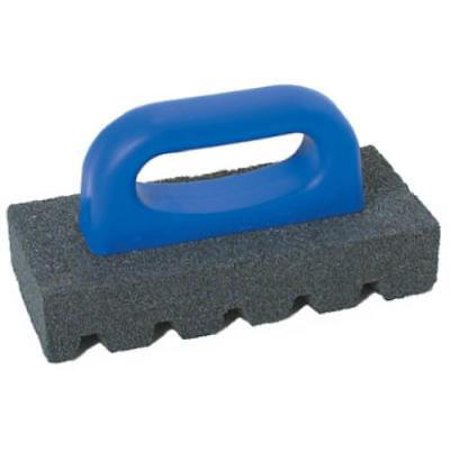 """6"""" X 3"""" 20 Grit Rub Brick Fluted Silicon Carbide Stone Only One"""