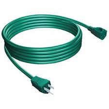 Stanley Green Outdoor Grounded Extension Cord 80'