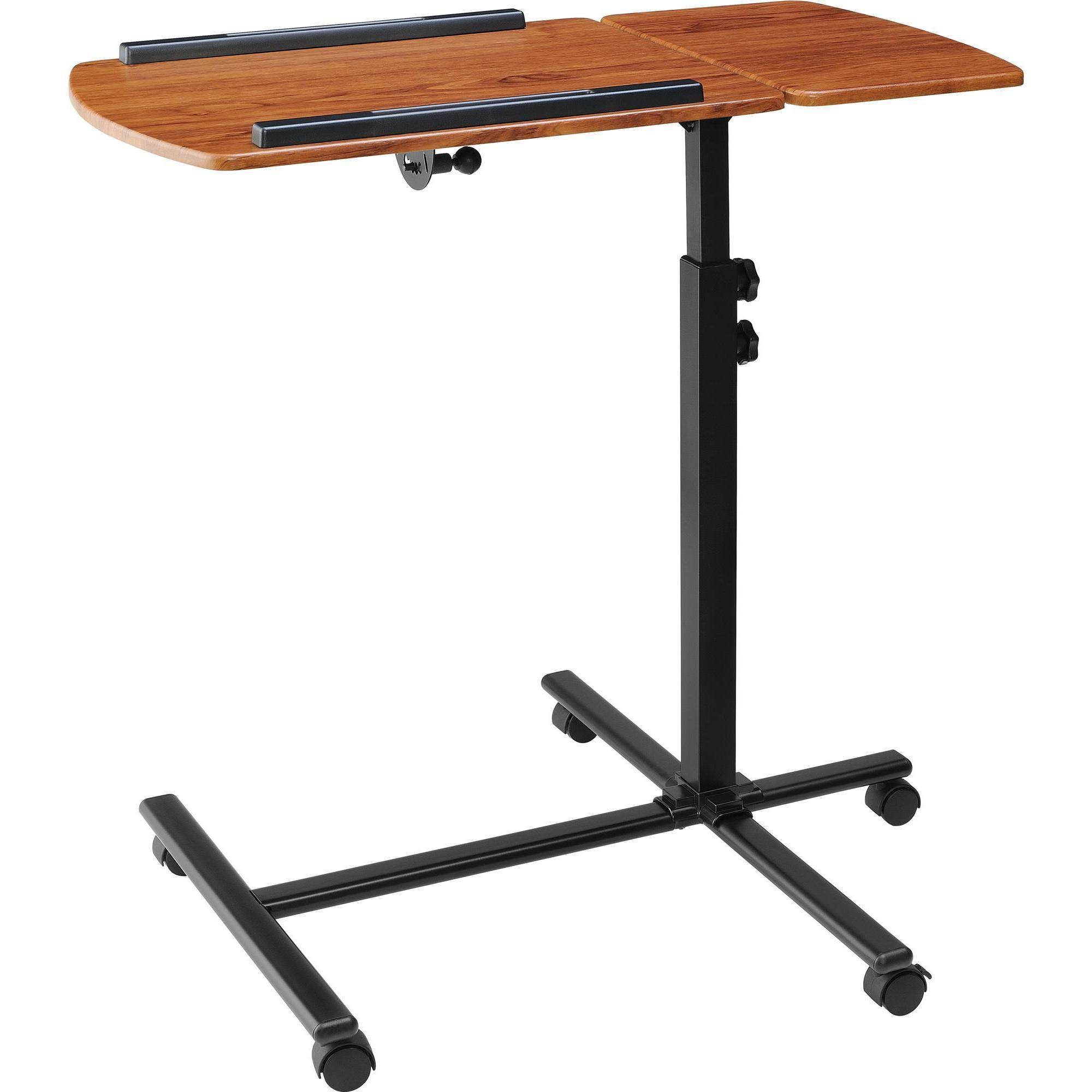 Ameriwood Home Jacob Laptop Cart, Cherry/Black   Walmart.com