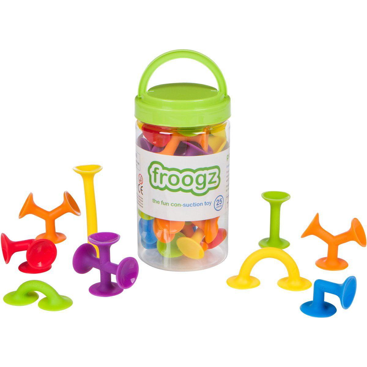 Froogz - 25 Piece Suction Toy Construction Set | Building Kit
