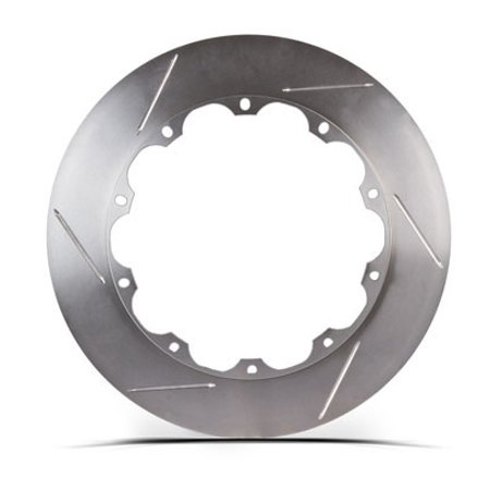 Stop Tech/ Power Slot 31.737.1102.99 Brake Rotor  Right Slotted; Two Piece Design Without Hat; 355 Millimeter Diameter x 32 Millimeter Thickness; Bare Iron; Set Of 4; With Hardware - image 1 of 1