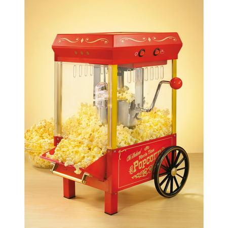 Nostalgia KPM508 Vintage Collection Electric Kettle Popcorn - Pop Corn Machine