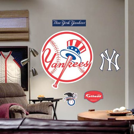 New York Yankees Team Logo Fathead Wall Sticker - No