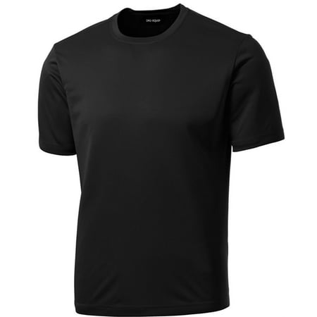 Dri equip tm men 39 s short sleeve moisture wicking athletic for Moisture wicking button down shirts
