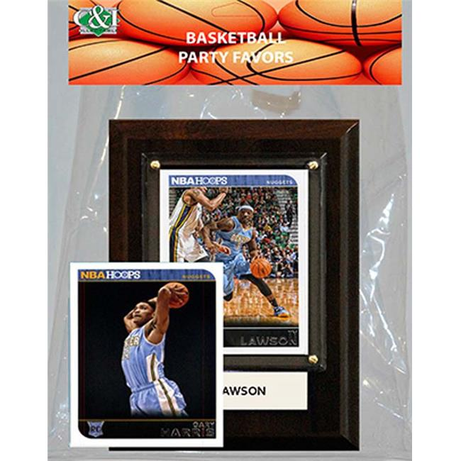 Candlcollectables 46LBNUGGETS NBA Denver Nuggets Party Favor With 4 x 6 Plaque