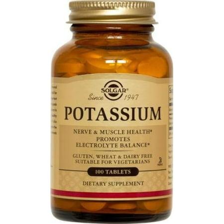 Solgar Potassium 100 Tablets ()