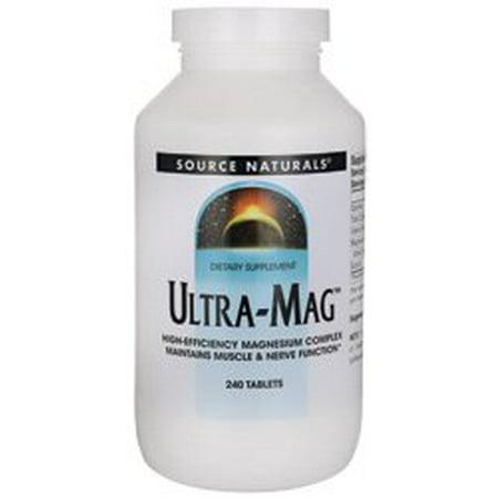 Source Naturals Source Naturals  Ultra-Mag, 240 ea