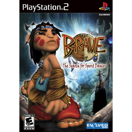 Brave The Search for Spirit Dancer - PlayStation