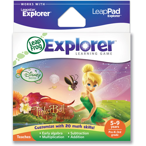 LeapFrog Explorer & LeapPad Learning Game: Disney Fairies: Tinker Bell and the Lost Treasure