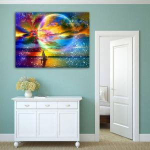 Fancyleo Cosmic Galaxy Planets Full Drill Diamond Dots Canvas Art Craft Kits Cosmic starry Crystal Rhinestone Diamond Painting - Canvas Crafts