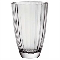Majestic Gifts E63326-US Diva 9.5 in. High Quality Glass Vase