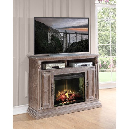 Legends Furniture Estancia Tv Stand With Electric Fireplace